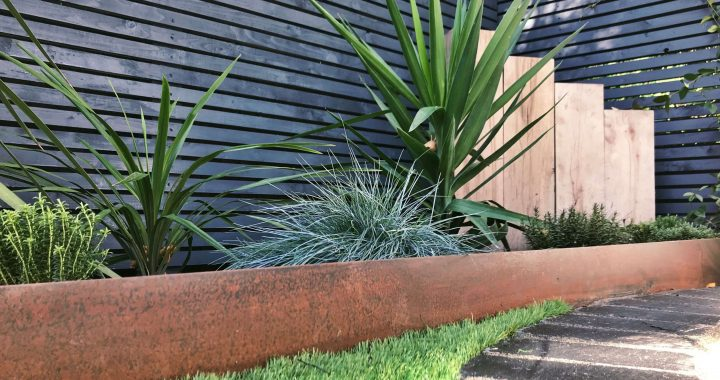 Perks for Using Corten Steel for Garden Edging